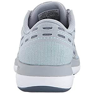 Under Armour Women's Threadborne Slingflex, Overcast Gray/Apollo Gray/Blue Infinity, 8 B(M) US