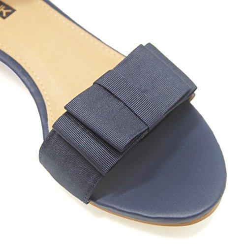 JUMERRYSs006 - Zapatos de tacón  mujer azul marino