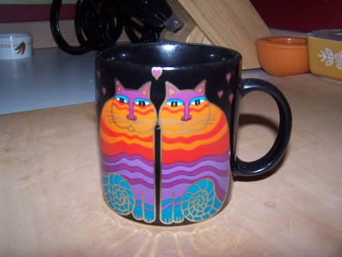 Laurel Burch Rainbow Cats Coffee Mug