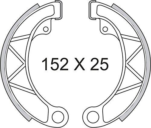 RMS Ganasce freno anteriore o posteriore Lambretta (Freni a Tamburo e Ganasce) / Brake shoes rear or front Lambretta (Brake Drum and clamping jaws)