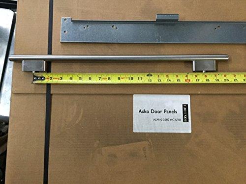 Asko Dishwasher Door panel Kit D/W luxury Decorative Wood w/Handle by ASKO (Image #3)