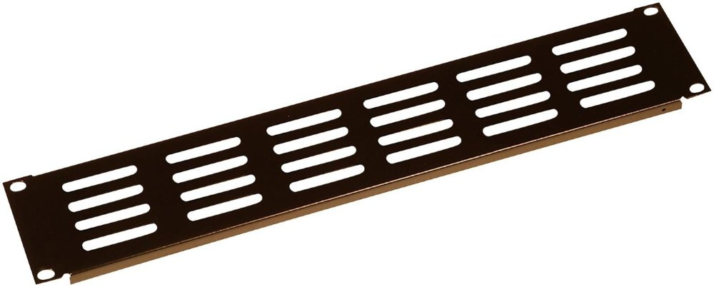 Gator Rackworks Rack Mount Steel Flat Panel Accessory; 1U Size GRW-PNLSTFT1