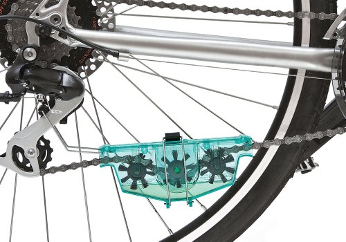how to properly clean a bike chain