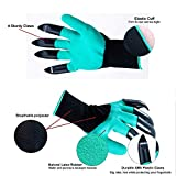 GRYNKER Garden Gloves with Fingertips Claws for