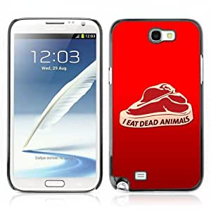 Lmf DIY phone case [Funny Meat Illustration] Samsung Galaxy Note 2 CaseLmf DIY phone case
