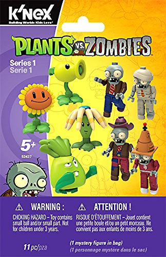 KNEX Plants vs. Zombies Mystery Figures, Series 1 by Other Manufacturer