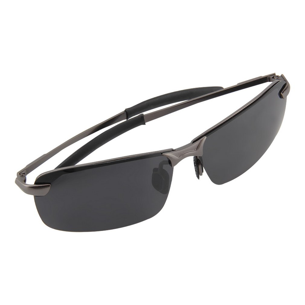 5cdabbb42a7 Amazon.com  Gun Grey Fashion Men Polarized Sunglasses Outdoor Driving  Fishing Glasses Eyewear E0  Clothing