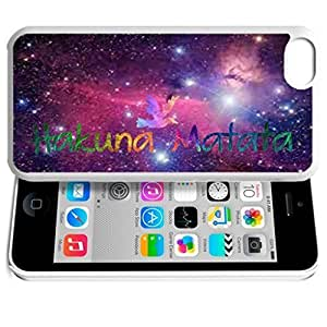 diy phone caseAfrica Ancient Proverb HAKUNA MATATA Color Accelerating Universe Star Design Pattern HD Durable Hard Plastic Case Cover for iphone 5/5sdiy phone case