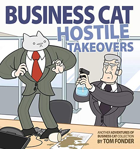 Pdf Graphic Novels Business Cat: Hostile Takeovers