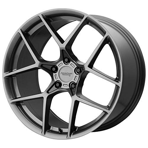AMERICAN RACING AR924 CROSSFIRE GRAY Wheel Chromium (hexavalent compounds) (18 x 8.5 inches /5 x 70 mm, 50 mm Offset)