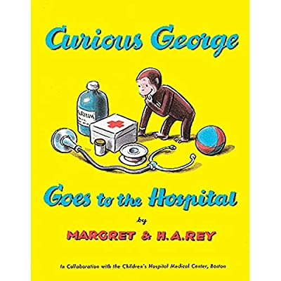 Houghton Mifflin Curious George Goes To The Hospital Paperback Book: Toys & Games