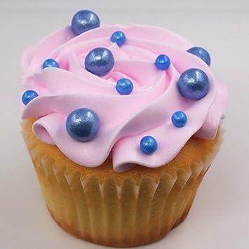 Natural 8 mm azul tuercas leche de soja Gluten OMG libre Shimmer ...