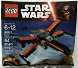 NEW! LEGO STAR WARS THE FORCE AWAKENS 30278 POE'S X-WING + 30276 TIE FIGHTER