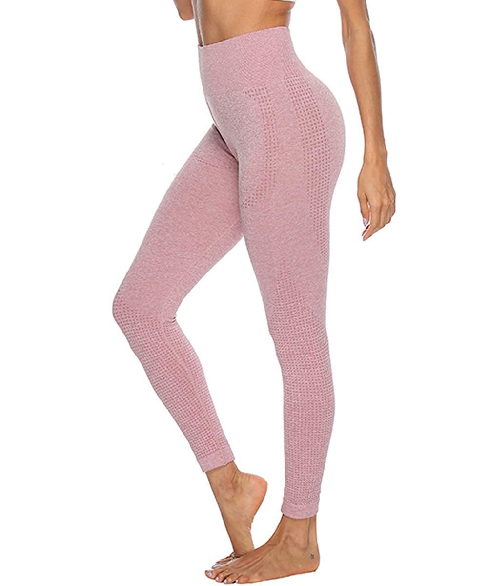 FITTOO Damen Power Flex Yoga Hosen Training Laufende Leggings Active Leggings Slimming Seamless Pants