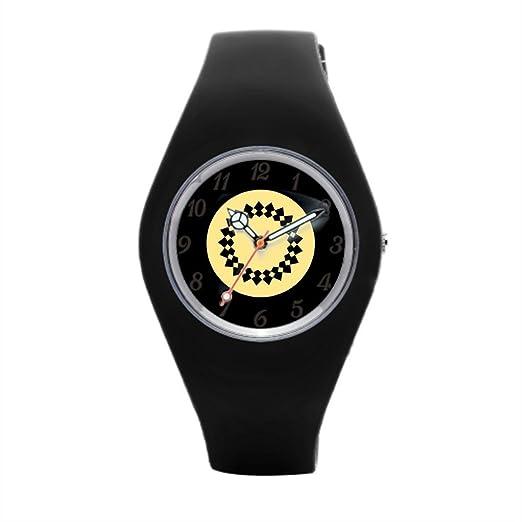 Diseño elegante muñeca relojes Marcas), diseño de círculos deporte relojes para las mujeres: Amazon.es: Relojes