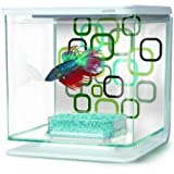 Hagen Marina Betta Aquarium Starter Kit, Geo Bubbles