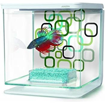 Marina Betta Aquarium Starter Kit, Geo Bubbles