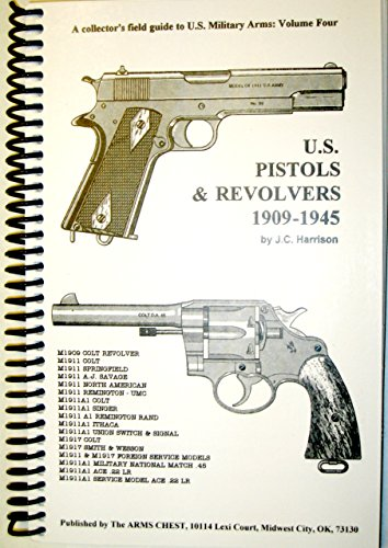 U. S PISTOLS & REVOLVERS 1909-1945 (Collector's field for sale  Delivered anywhere in USA