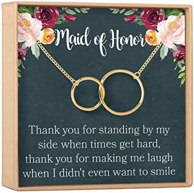 Jewelry Wedding gift Bridesmaid Proposal a5 #7 Bridesmaid Proposal Maid of Honor Gift Necklace Matron of Honor Gift Be My Bridesmaid