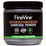 Activated Hardwood Charcoal Powder - Made in USA - Food Grade for Detox, Teeth whitening, Face Mask, Helps Digestion, Bug Bites, Treats Poisoning and Wounds.