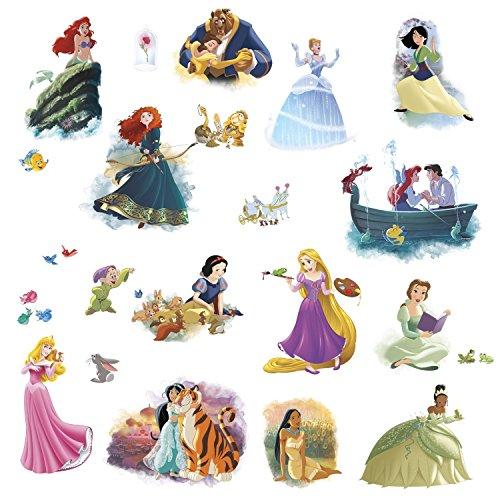 Disney Princess Dream Big Peel and Stick Wall Decals (Merida Stickers)