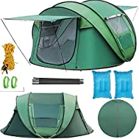 Happybuy Instant Popup Camping Tent 3-5 Person Waterproof...