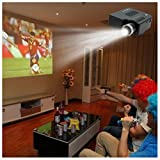 Best GENERIC Hd Home Theater Multimedia Lcd Led Projectors - NEW Portable Mini LCD LED HD 1080P Projector Review