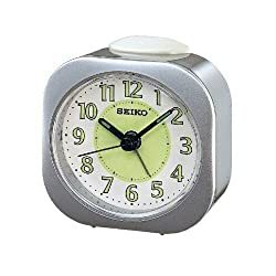 (SEIKO) Alarm Clock (Silver) (QXE003)