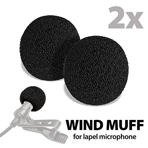 Lavalier Microphone Windscreen Filter Headset product image