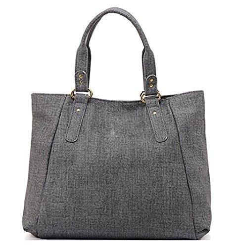 Gwqgz New Handbag Simple Bulk Bag Ladies Fashion Leisure