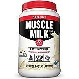 Muscle Milk Genuine Protein Powder, Vanilla...