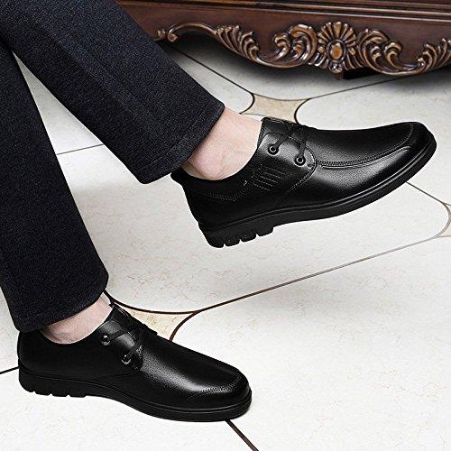 Lace Formale Sera Up Scarpe Abito Oxford Lavoro Lavoro Ufficio Elegante Scarpe Uomo Casual Black Da Derby D'ufficio Sposa Scarpe Da HGDR Da EBvwSP