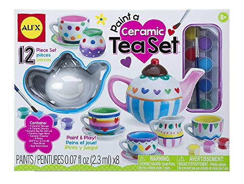 (ALEX Toys Craft Paint A Ceramic Tea Set)