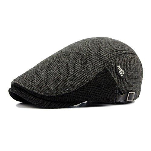 sombreros edad de caliente sombrero caps Gray beanie de sombreros MASTER Beret Halloween Navidad Dark hombre mediana marrón tapas avance tapas tejidos Sombreros q4EEpwC