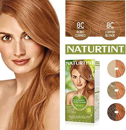 Naturtint | Coloración sin amoniaco | 100% cobertura de canas ...