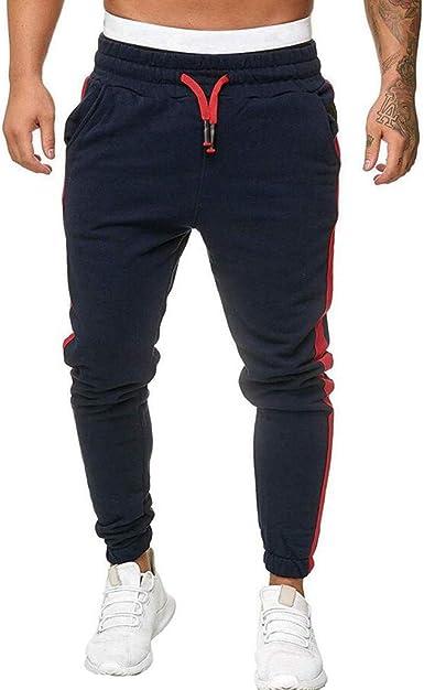 Men/'s Sports Jogger Athletic Pants Loose Casual Jogging Tracksuit Sweatpants