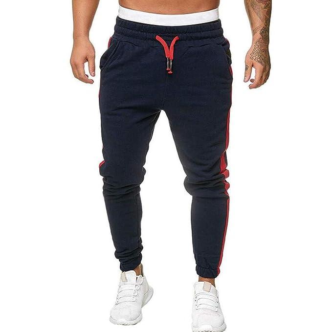 DUJIE Pantalones Jogger Hombre Pantalones Cagados Pantalon ...
