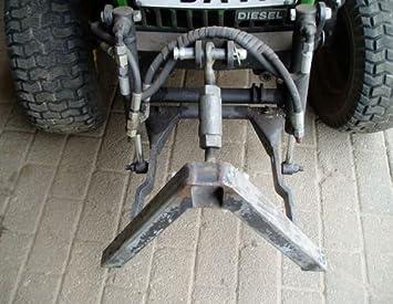 La parte delantera de hidráulicos para John Deere pequeño tractor ...