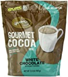 Caffe D'Amore Gourmet Cocoa Mix, White Chocolate, 2-Pound Package