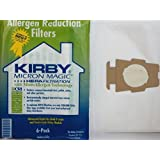 Kirby Universal Bag Kirby #204811 - Universal Hepa White Cloth Bags for All Generation & Sentria Models (6 Bags & 1 belt)