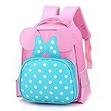 Lesley Ye Kids Backpack Carton School Cute Toddler Bags with Angel Wings