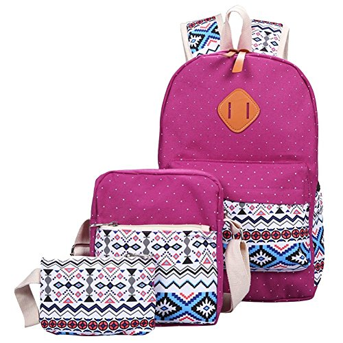 Bag Cute Teens Bags Set backpack Yilianda School Purple Mini Backpacks Of Backpack Bag 3 Crossbody SnF7xtq8xw