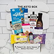 The Keto Box - A Monthly Keto Snack Subscription Box
