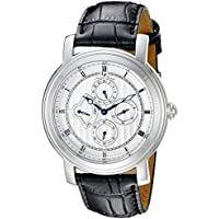 Lucien Piccard Men's LP-40009-02S Valarta Analog Display Watch with Embossed Band