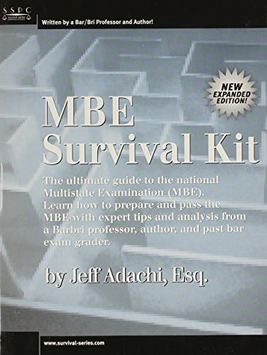 MBE Survival Kit Adachi