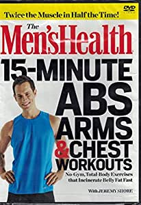 Men's Health 15 Minutes ABS ARMS & Chest Workouts