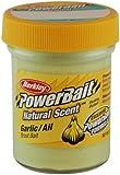 PowerBait Natural Scent Trout Bait, Garlic, Dough - Garlic