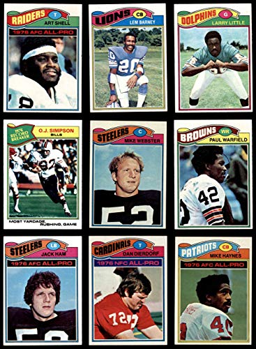 1977 topps football complete set - 5
