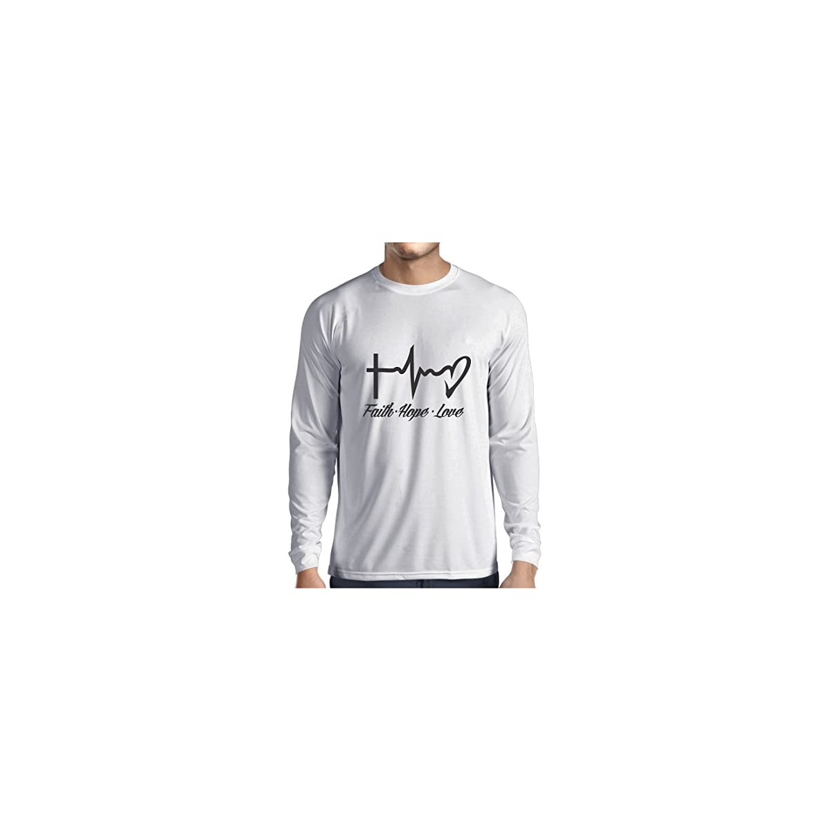 c63a7000c lepni.me Long Sleeve T Shirt Men Faith - Hope - Love - 1 Corinthians ...