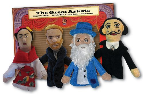 Finger Puppet Set: The Great Artists